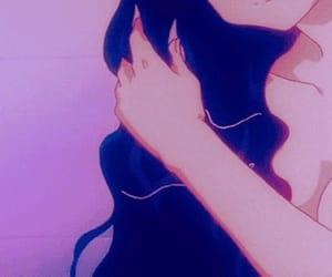 aesthetic, girl, and animegirl image