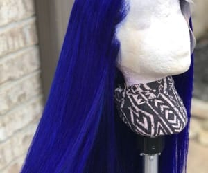 blue, hair, and royal blue image