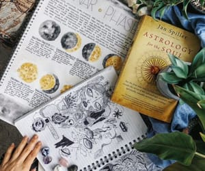 wicca, book of shadows, and moon image