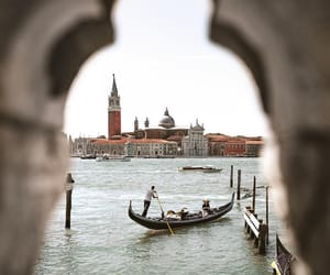venice, travel, and adventure image