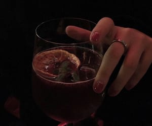 dark, drink, and aesthetic image