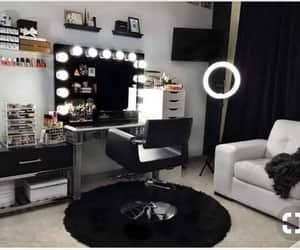 make up, room inspirations, and mirror image