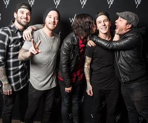 band, hug, and kiss image