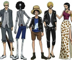 anime, one piece, and sanji image