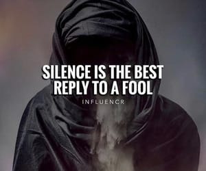 fool, silence, and best reply image