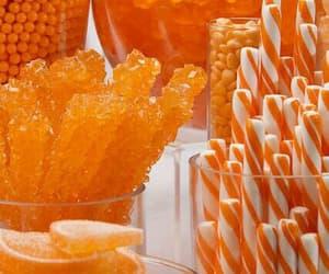 candies, laranja, and orange image