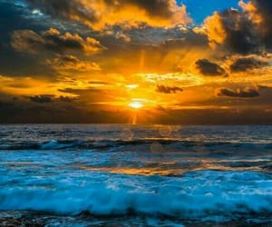 sunset and nature image
