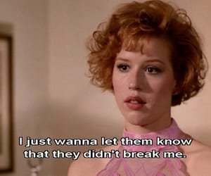 pretty in pink, movie, and quotes image