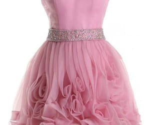 custom prom dress, prom dress pink, and homecoming dresses short image