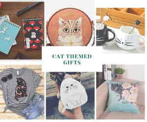 gifts for cat lovers, presents for cat lovers, and gift ideas for cat lovers image