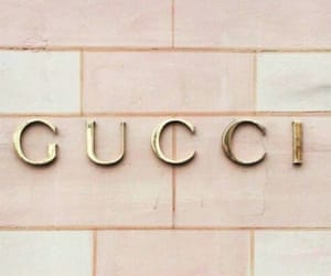 gold, gucci, and pink image
