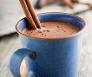 Cinnamon, chocolate, and hot chocolate image