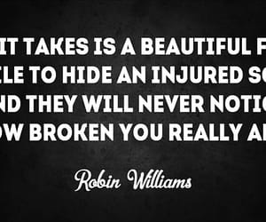 beautiful, never, and robin williams image