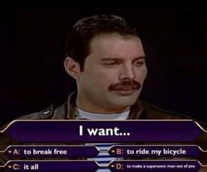 meme, Freddie Mercury, and funny image