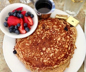 berries, breakfast, and delicious image