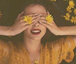 girls and yellow image