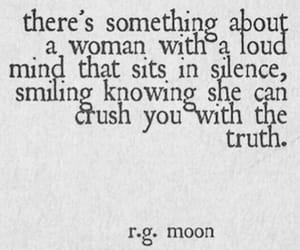 quotes, woman, and truth image