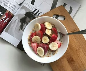 strawberry, banana, and fruit image