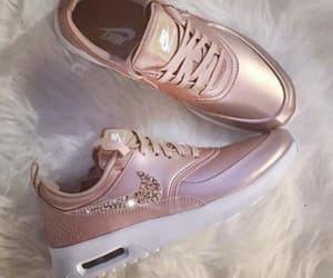 nike, shoes, and rose gold image