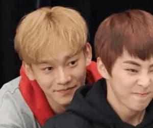 Chen, gif, and xiumin image