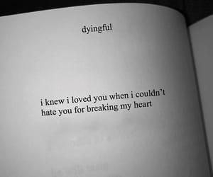 breaking, broken, and heart image