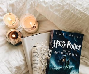 book, harry potter, and candles image