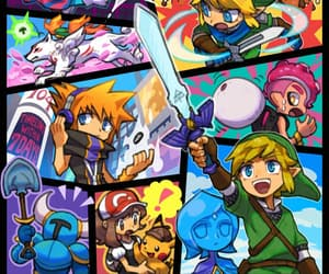 game, pokemon, and skyward sword image
