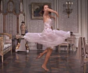 ballerina, delicate, and gif image