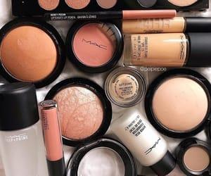 eyeshadow, lipstick, and mac image