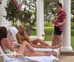 chuck bass, gossip girl, and The Hamptons image