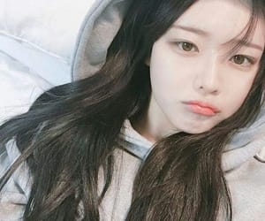 korean girl, aesthetic, and make up image