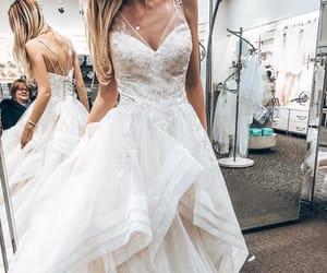 blonde, bride, and bridesmaids image