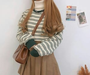 clothes, girl, and korean image