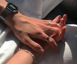 asian, couple, and hands image