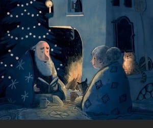 merry christmas, feliz navidad, and love image