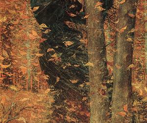 art and autumn image