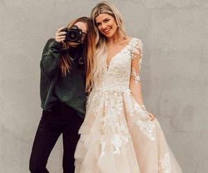 evening dresses, girls, and formal dresses image