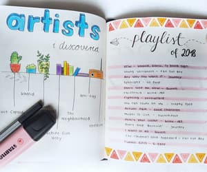 creative, journal, and journaling image