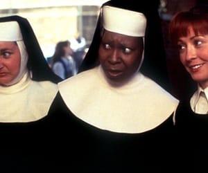 nun and whoopigoldberg image