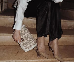 clothes, clutch, and fashion image