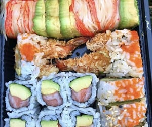 delicious, food, and salmon image