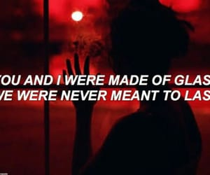aesthetic, quotes, and black&red image