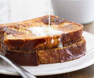 breakfast, food, and toast image