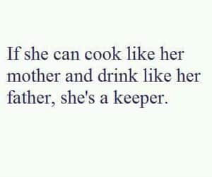 cook, woman, and drink image