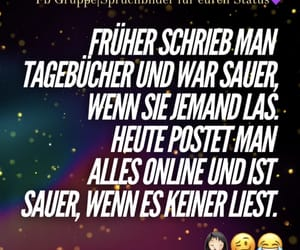 deutsch, facebook, and spruchbild image