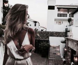 fashion, dress, and blonde image