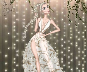 fashionillustrator, gufontinelly, and fashion image