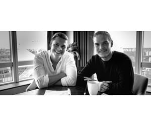 black and white, vikings, and alex høgh andersen image