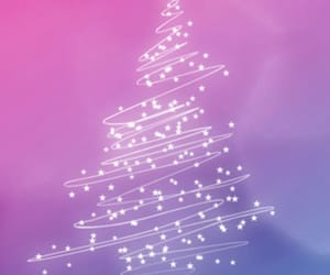 christmas+tree, wallpapers+backgrounds, and we heart it+свято image