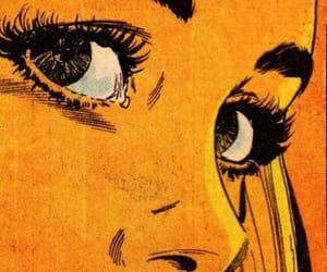 comic, yellow, and art image